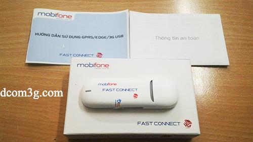 USB 3g Mobifone E3131s-1 21,6Mbps vào mạng như xe phân khối lớn