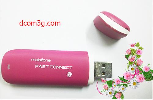 USB 3g Mobifone Fast Connect E173u-1 thỏa ước muốn kết nối