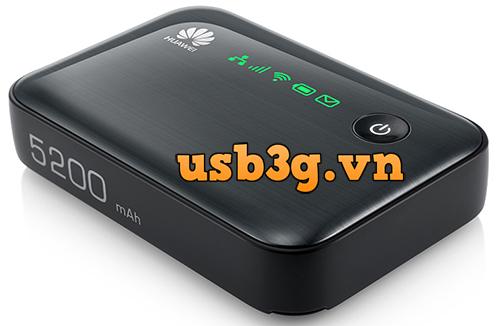 Review Router wifi 3G Huawei E5730 kiêm sạc dự phòng