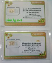 Sim 3G Mobifone 23gb khuyến mại 12 tháng