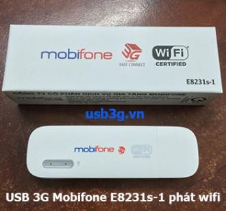 USB 3G Mobifone phát wifi E8231s-1