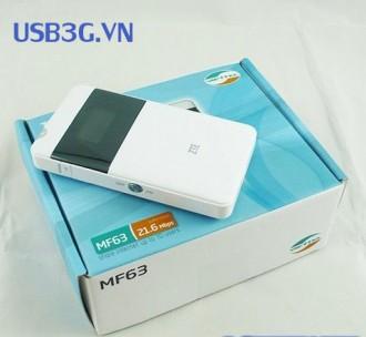 Bộ Phát wifi 3G Viettel Mf63 tốc độ cao 21.6Mbps
