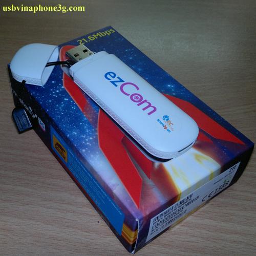 usb 3g ezcom vinaphone mf667 21,.6mbps dùng các sim giá rẻ