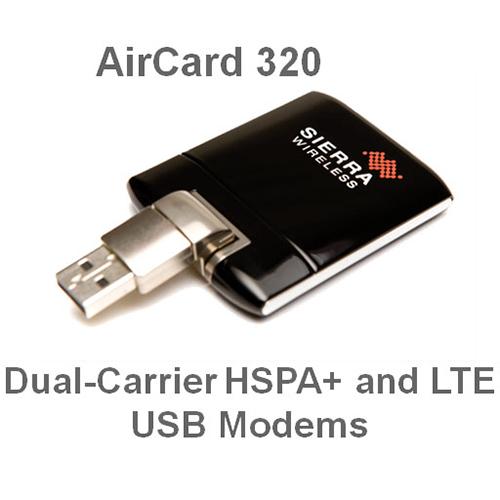 USB 4G Sierra Wireless Aircard 320U hiện đại